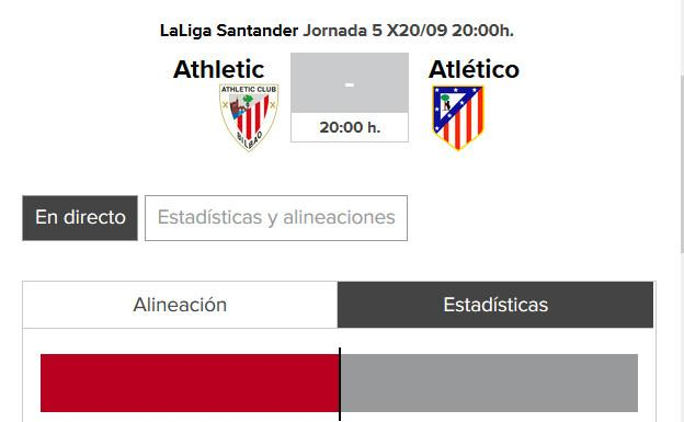 Athletic - Atlético de Madrid: horario y TV del partido de Liga 2017-18./