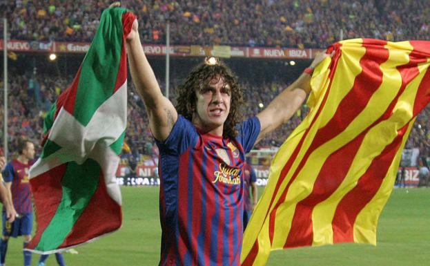 Carles Puyol, cuarto 'One Club Player Award' del Athletic