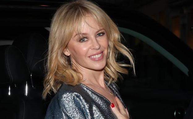 Kylie Minogue./