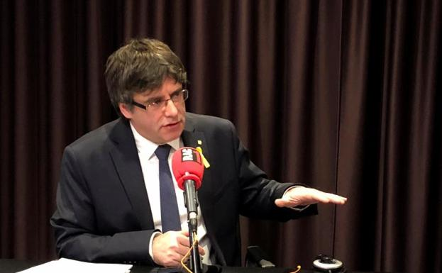 Cales Puigdemont./Efe