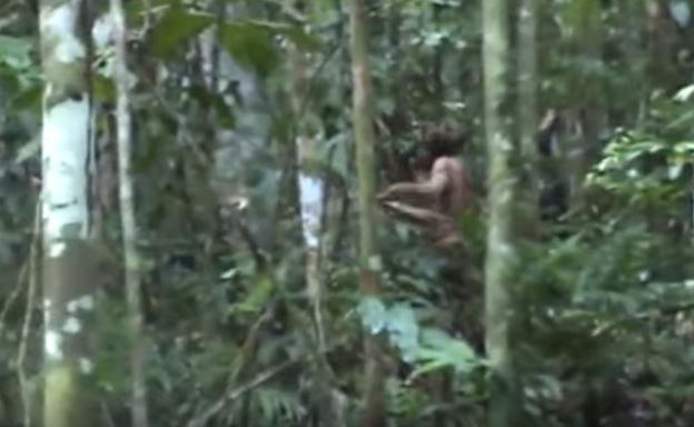 20 años de soledad: filman al último sobreviviente de remota tribu amazónica