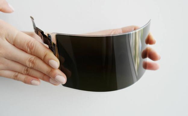 Samsung presenta una pantalla OLED flexible que promete ser irrompible