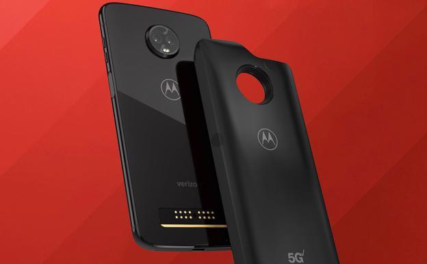 El Motorola Moto Z3 Play, primer smartphone compatible con el 5G