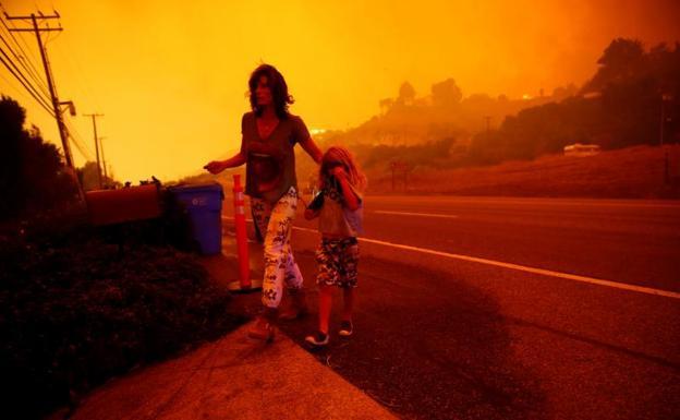COMUNICADO | Venezuela expresa condolencias a EEUU por fuegos en California