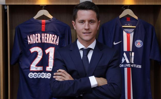 Ander Herrera llega al PSG