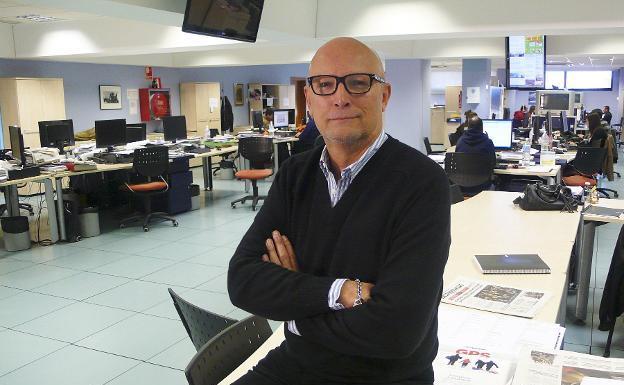 El popular periodista de moda Carlos García-Calvo. /L.R