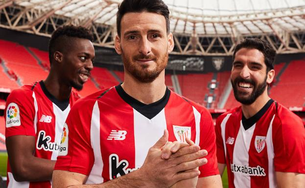 La nueva camiseta del Athletic para la temporada 2018 - 2019 ... ff3a70389d269