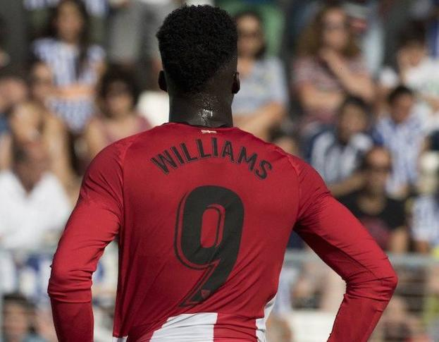 Iñaki Williams lucirá el '9' esta temporada./
