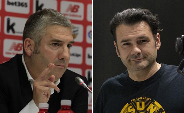 Bronca en el palco de San Mamés entre Josu Urrutia y el presentador Iñaki López