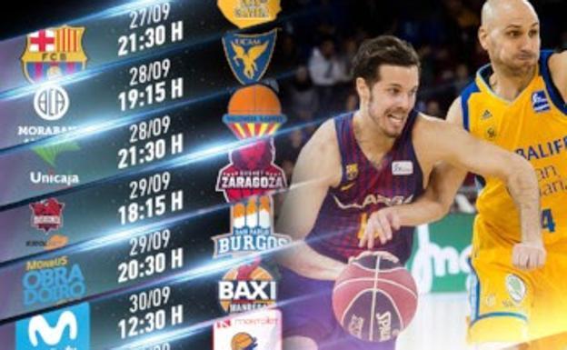 Calendario Tecnyconta.El Baskonia Comenzara La Liga Acb El Sabado 29 Frente El Tecnyconta