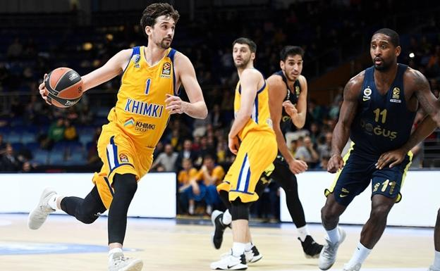 Alexey Shved ha superado el récord de puntos en una temporada regular./Euroliga