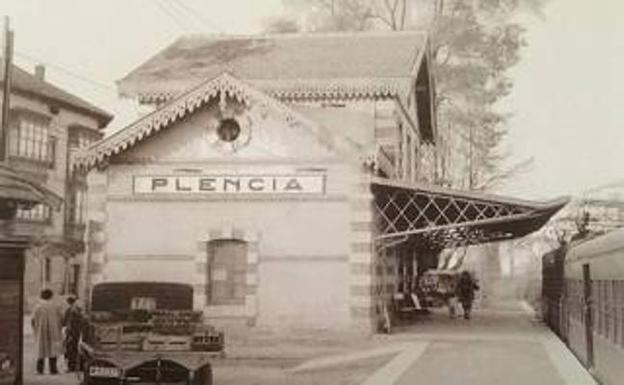 La estación perdura de aquella etapa inicial a finales del siglo XIX. / A. P.