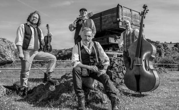 The Old Timey String Band actuará mañana. / BAKIOKO UDALA