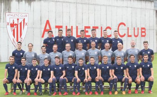 La plantilla del Bilbao Athletic 2018-2019