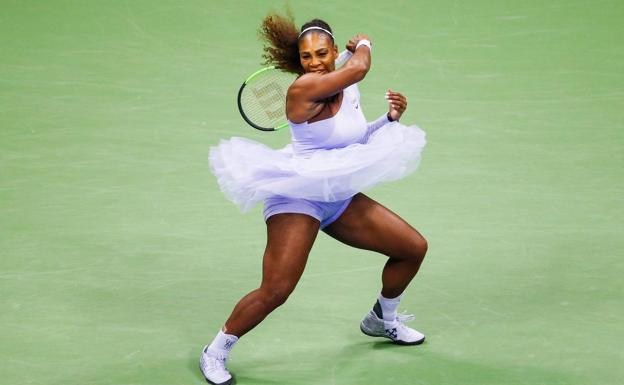 La estadounidense Serena Williams. /Afp