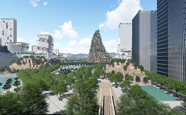 Premio_Montaña Centro Urbano Shenzhen.