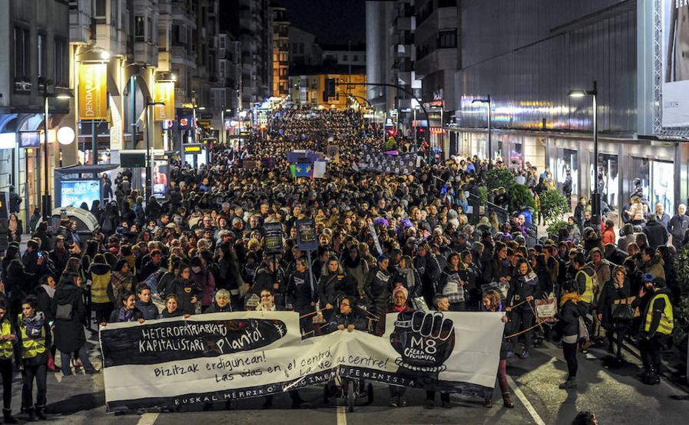 Resultado de imagen de huelga 8m 2019 vitoria
