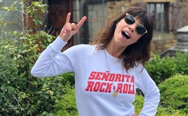 8b6ec034a Maribel Verdú, la mayor fan de las camisetas optimistas de una ...