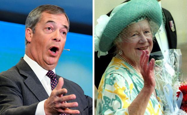 Farage Se Burla De La Reina Madre De Inglaterra Por Su Sobrepeso El Correo