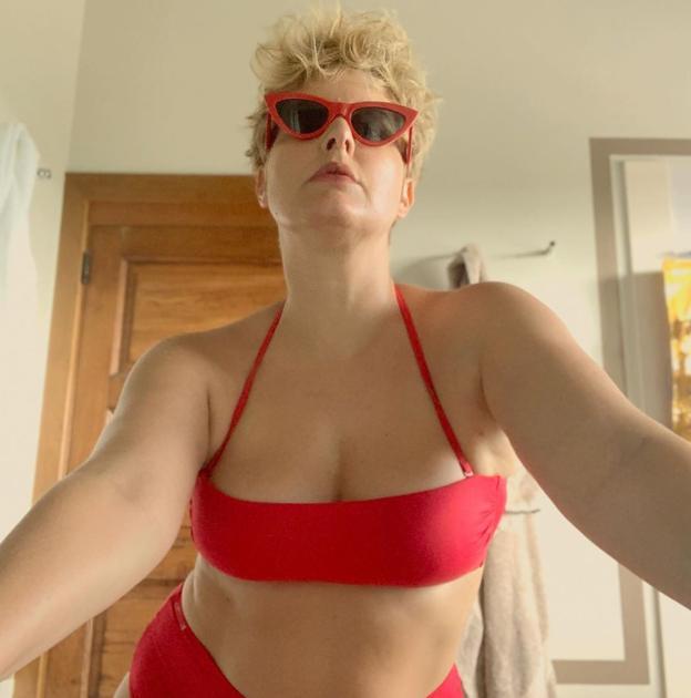 8466dc165472 Tania Llasera enseña en bikini sus «kilos postvacacionales»: «Mi ...