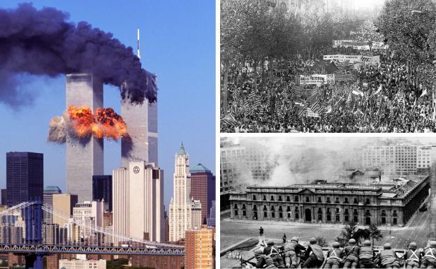 Atentados, batallas, golpes de estado... 11-S, el día en que pasa de todo |  El Correo