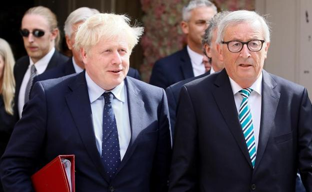 Juncker and Johnson accelerate the negotiation