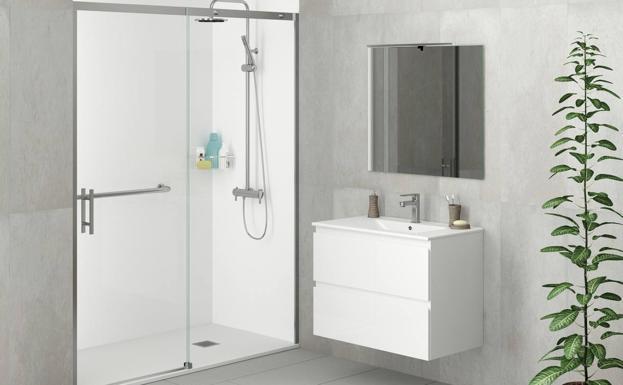 Cambiar de bañera a ducha para lograr un baño más seguro y ...