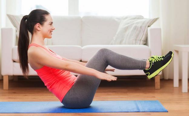 Resultado de imagen de ejercicio en casa