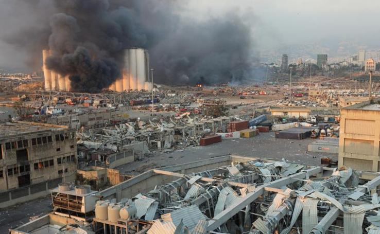 La explosión en el puerto de Beirut, en imágenes