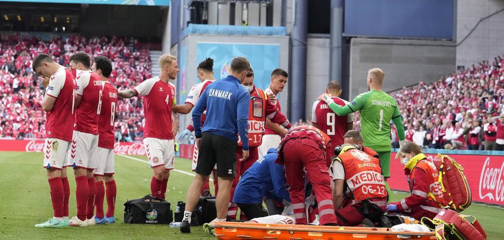 «Eriksen estuvo muerto en algún momento», dice el médico de Dinamarca