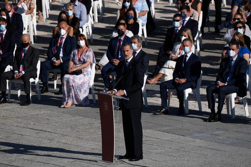 Fotos: Homenaje de Estado a las víctimas de la pandemia   El Correo