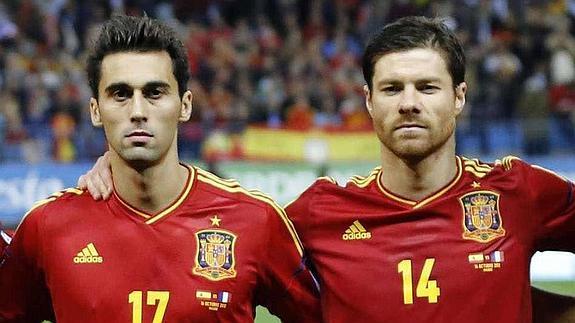 Arbeloa y Xabi Alonso son grandes amigos. 533d640eeb0e9