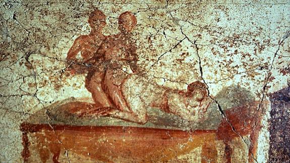 Resultado de imagen de burdel romano pompeya